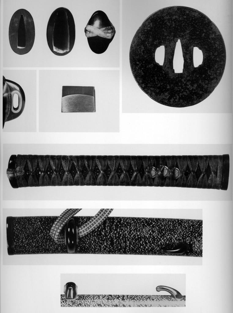 江雪左文字-打刀拵刀装具