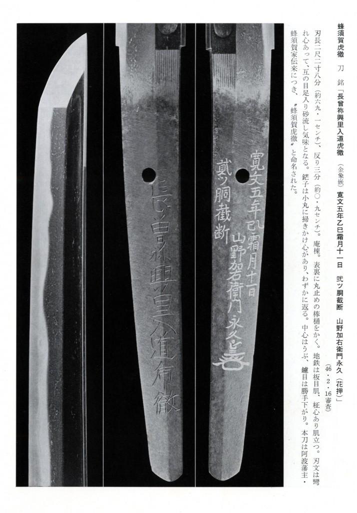 蜂須賀虎徹-画像2