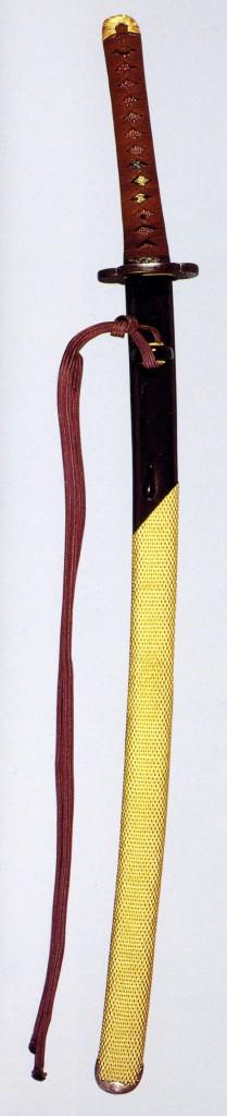 へし切長谷部の打刀拵1