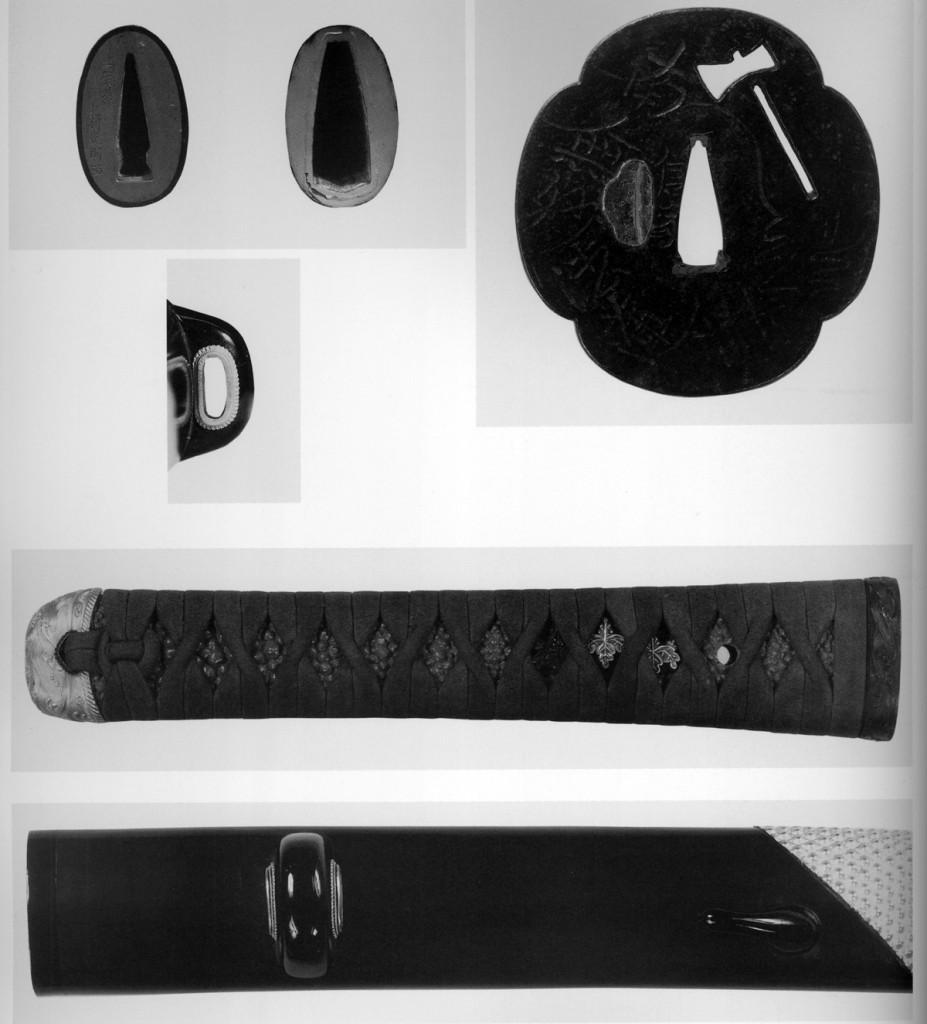 へし切長谷部の打刀拵刀装具