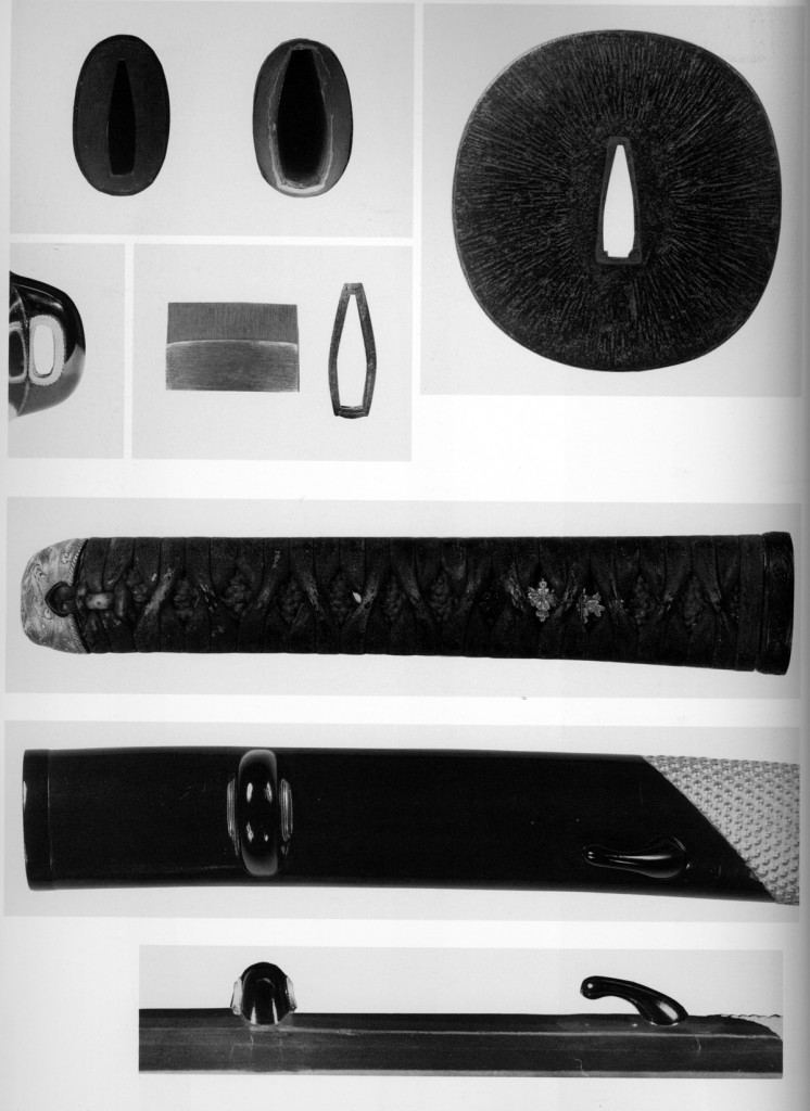 安宅切の打刀拵刀装具