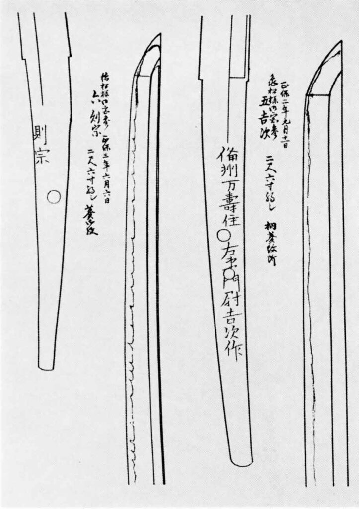 山王神社宝刀図譜